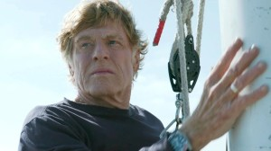 The lone cast member of All Is Lost, Robert Redford.