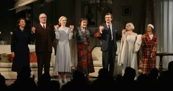 The curtain call.  Anglea Lansbury just glows!  Photo by Ryan Miller.