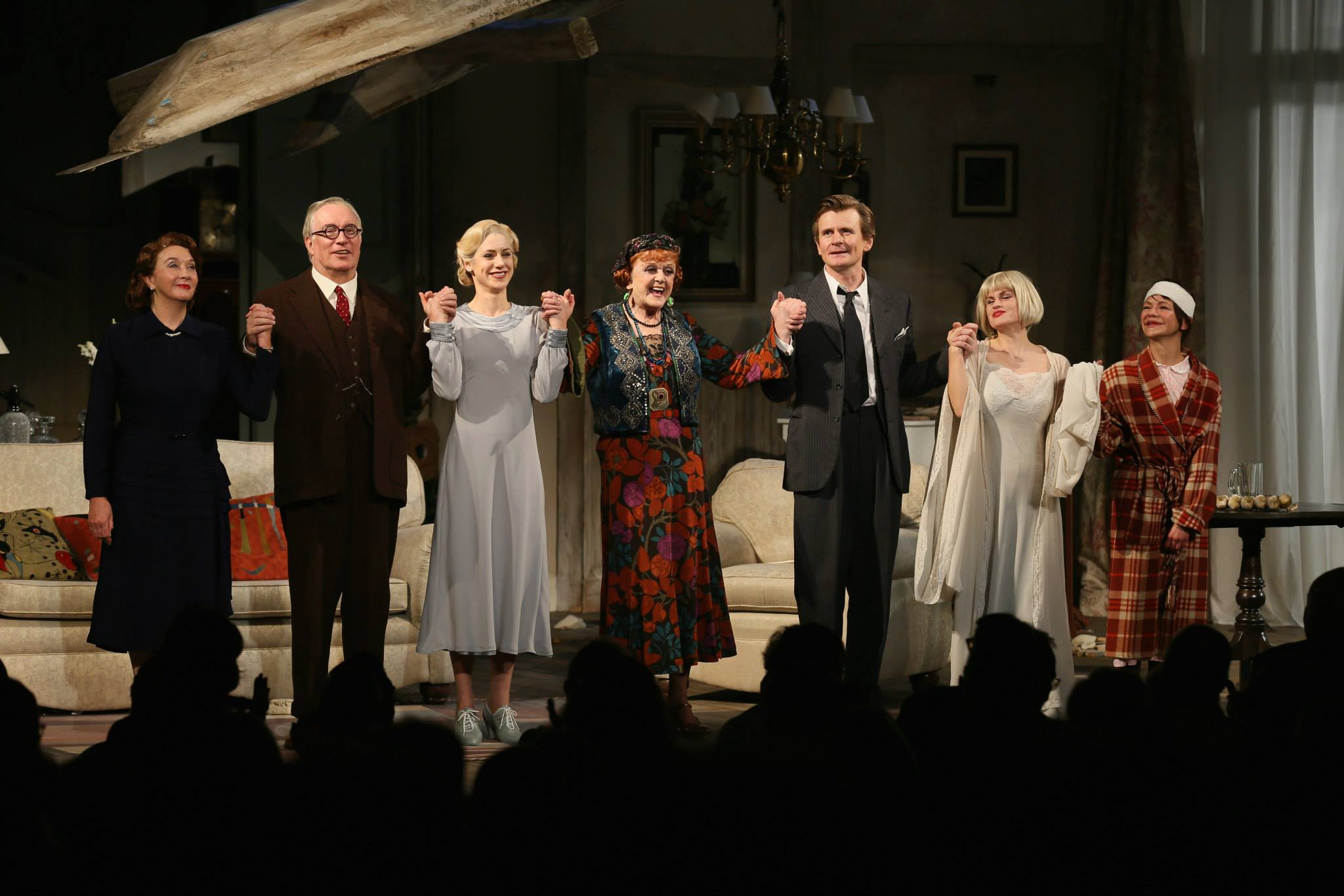 The Curtain Call Anglea Lansbury Just Glows Photo By Ryan Miller