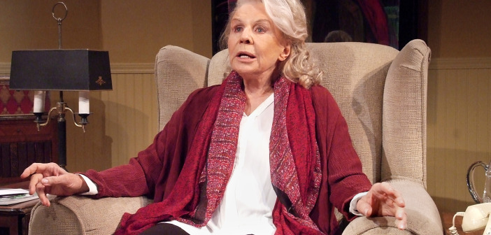Salome Jens as stella Goldschlag.  Photo by Ed Krieger.