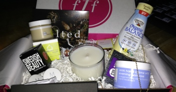 FabFitFun's fabulous Winter Box. Photo by Karen Salkin.
