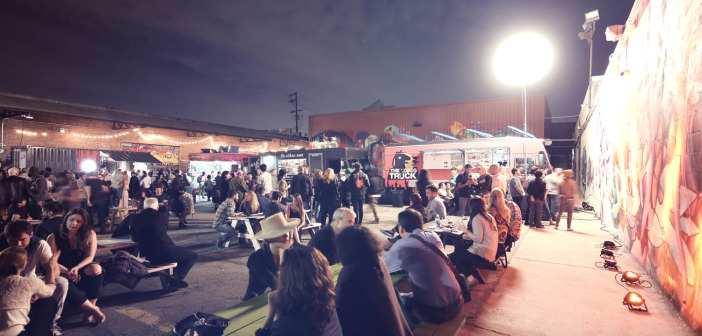 The outdoor food truck scene. How gorgoeus is this photo?! Photo by Andre Niesing.