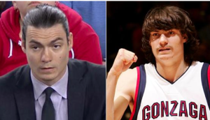 Gonzaga's Adam Morrison, now and then.