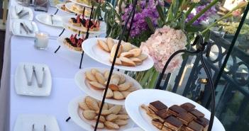 Part of the Afternoon Tea buffet. Photo by Karen Salkin.
