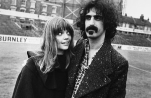 I adore this photo of Gail and Frank Zappa when they were young.