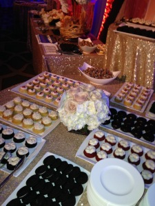The take-home dessert display! Photo by Karen Salkin.