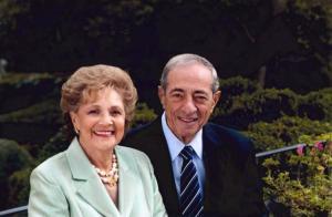 Matilda Cuomo with her late husband, Mario.