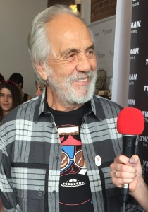 Tommy Chong. Photo by Karen Salkin, as is the big on at the top of the page.