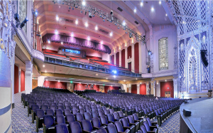 The auditorium of the Saban Theatre.