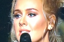 Adele's beautiful face. Photo by Karen Salkin.