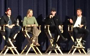 Tom Holland, Sienna Miller, Robert Pattinson, Charlie Hunnam. Photo by Karen Salkin.