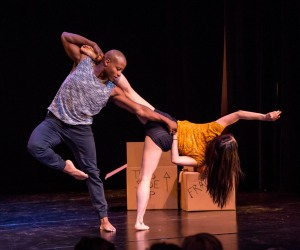 The wonderful number by Hyosun Choi and Jonathan Bryant of Invertigo Dance Theatre. Photo by Cheryl Mann.