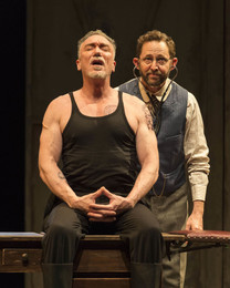 Patrick Page and Todd Weeks. Photo by Craig Schwartz, as is the big one at the top of this page.