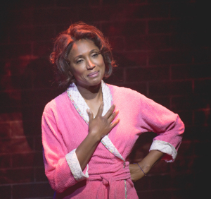 The beautiful Nita Whitaker as Mom Winans.  Photo by Ben Gibbs.