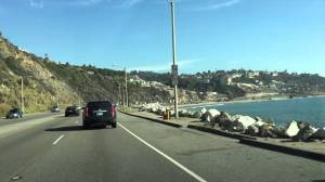 Pacific Coast Highway, the route I took down to LA.
