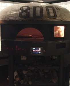 The special pizza oven. Photo by Karen Salkin.