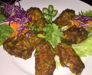 Thai buffalo wings. Photo by Karen Salkin.