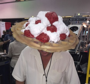 Just one of the crazy fun sights you'll see at the Western Foodservice & Hospitality Expo!   Photo by Karen Salkin.