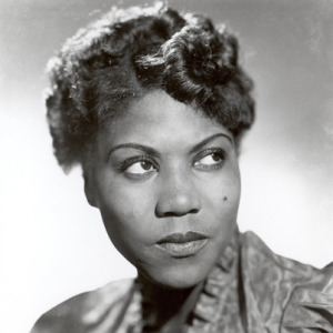 The real Sister Rosetta Tharpe., about whom I'm grateful this musical made me aware.