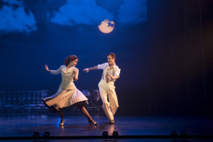 """The """"swirly skirt"""" number. Photo by Johan Persson."""