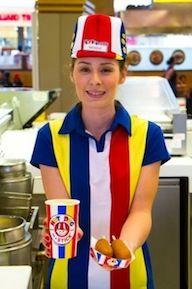 Hot Dog on a Stick employee!