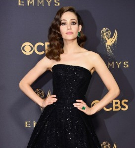 I want to end on the perfect outfit, so here's Emmy Rossum.
