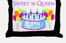 sweet_16_queen_throw_pillow