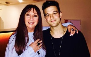 Karen Salkin and Mark Ballas, at a previous meeting. Photo by Jeanine Anderson.