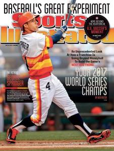 The now-classic 2014 Sports Illustrated cover.