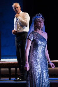 Jim Abele as King Charles and Nike Doukas as...Princess Diana!!!  Photo by Jenny Graham.