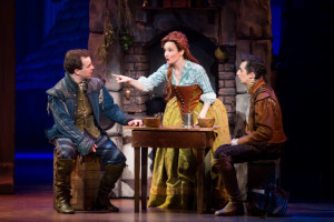 Rob McClure, Maggie Lakis and Josh Grisetti. Photo by Jeremy Daniel.