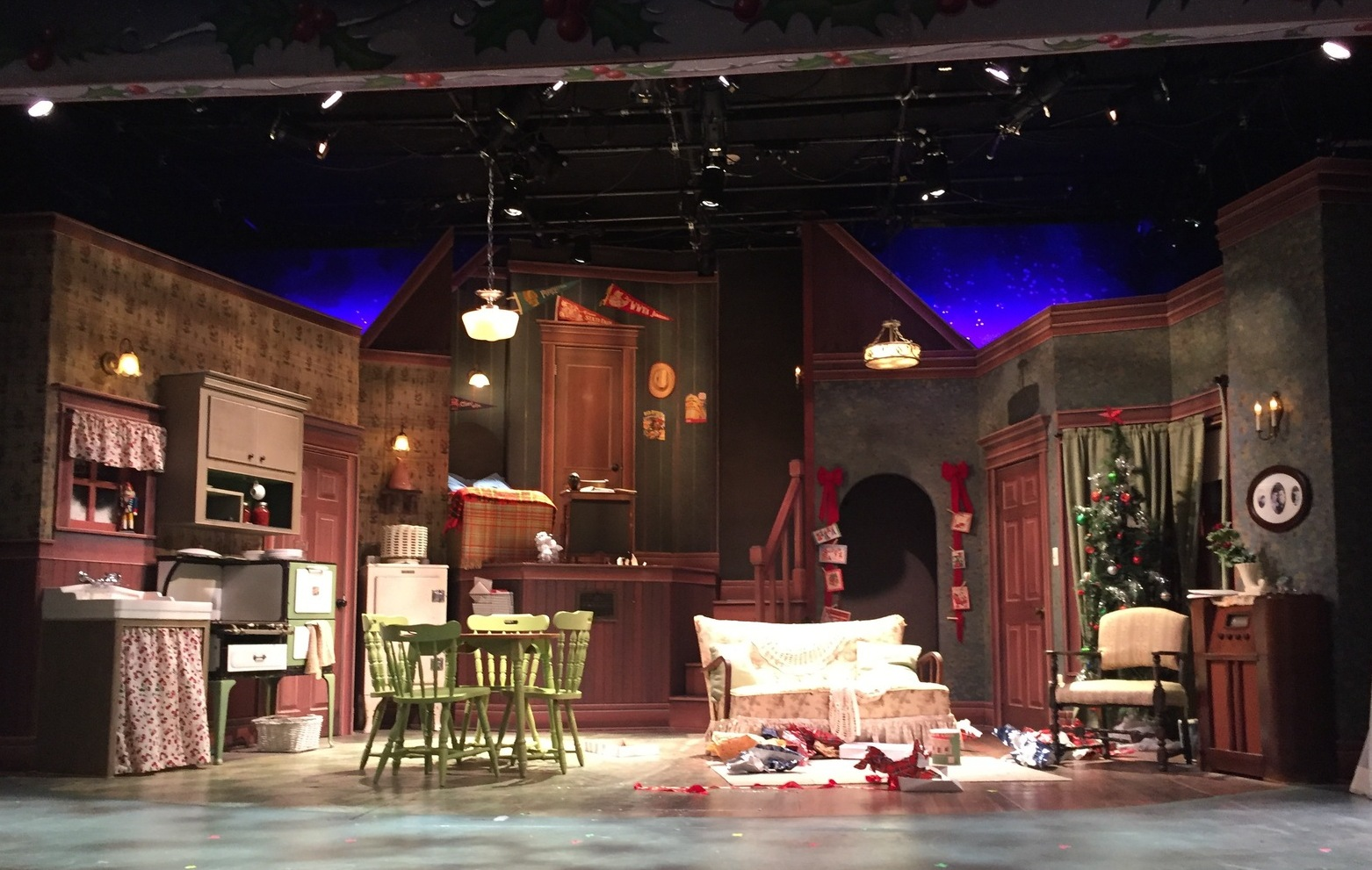 the main set photo by karen salkin - When Is A Christmas Story Set