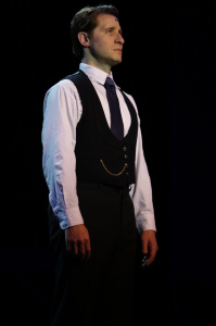 Marc Ginsburg as Levi Strauss. Photo by Carrie Frances.