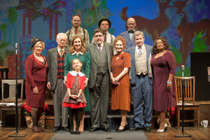 The whole cast.  Photo by Nick Agro.