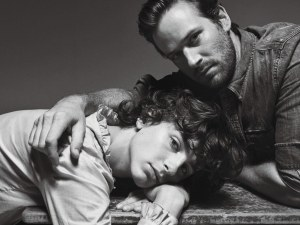 Timothee Chalamet  and Armie Hammer.
