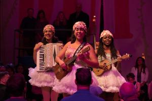Tina Muñoz Pandya, Amanda Raquel Martinez, and Leslie Ann Sheppard. Photo by Jenny Graham