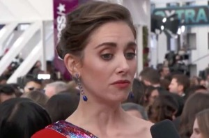 ...to this face when that Rancid person asked her the most inapporpriate question on the red carpet!