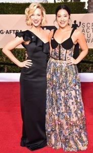 Yael Grobglas and Gina Rodriguez.