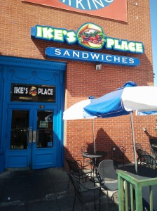 The Ike's Place in Westwood Village, an area that's near and dear to my heart.