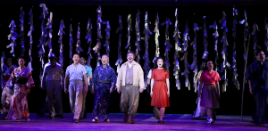 The cast of Allegiance. Photo by Michael Lamont.