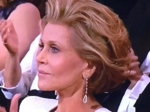Winner for Best Plastic Surgery is Jane Fonda! Photo by Karen Salkin.