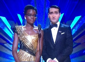 Lupita Nyong'o and Kumail Nanjiani. Photo by Karen Salkin.