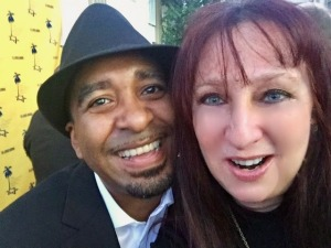 Manny Davis and Karen Salkin. Photo by Karen Salkin.