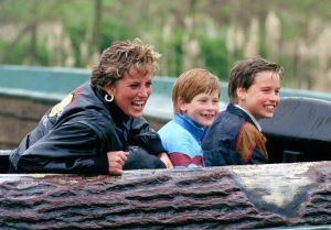 This is my favorite photo of Princess Diana and her young princes.