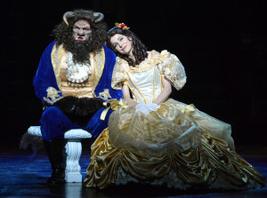 Jason Chacon and Susan Egan.  Photo by Ed Krieger.