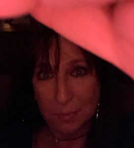 Karen Salkin, enjoying the after-party.  Photo by...Karen Salkin. (Duh--it's a selfie, of course!)