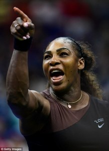 Serena Williams, at her finest.