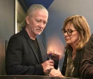 Patrick Duffy and Linda Gray.  Photo by Karen Salkin.