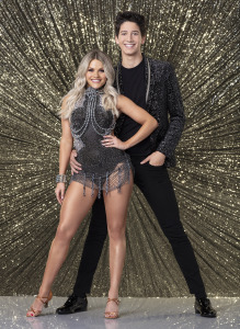 Witney Carson and Milo Manheim, who I now hope will win this season!