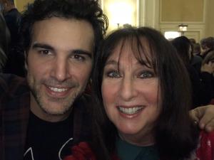 Juan Pablo Di Pace and Karen Salkin. Photo by Karen Salkin.